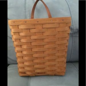 Longaberger large key basket